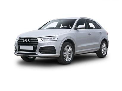 audi q3 estate special editions 1.4T FSI Black Edition 5dr S Tronic