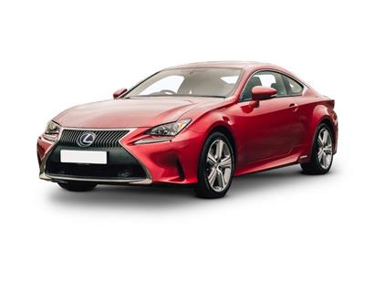 lexus rc coupe 300h 2.5 Luxury 2dr CVT Auto
